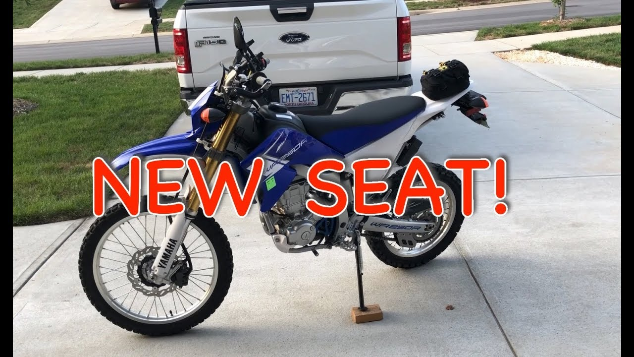 WR250R WR250X Seat Concepts Review