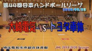 第44回日本ハンドボールリーグ和光大会大崎電気vsトヨタ車体