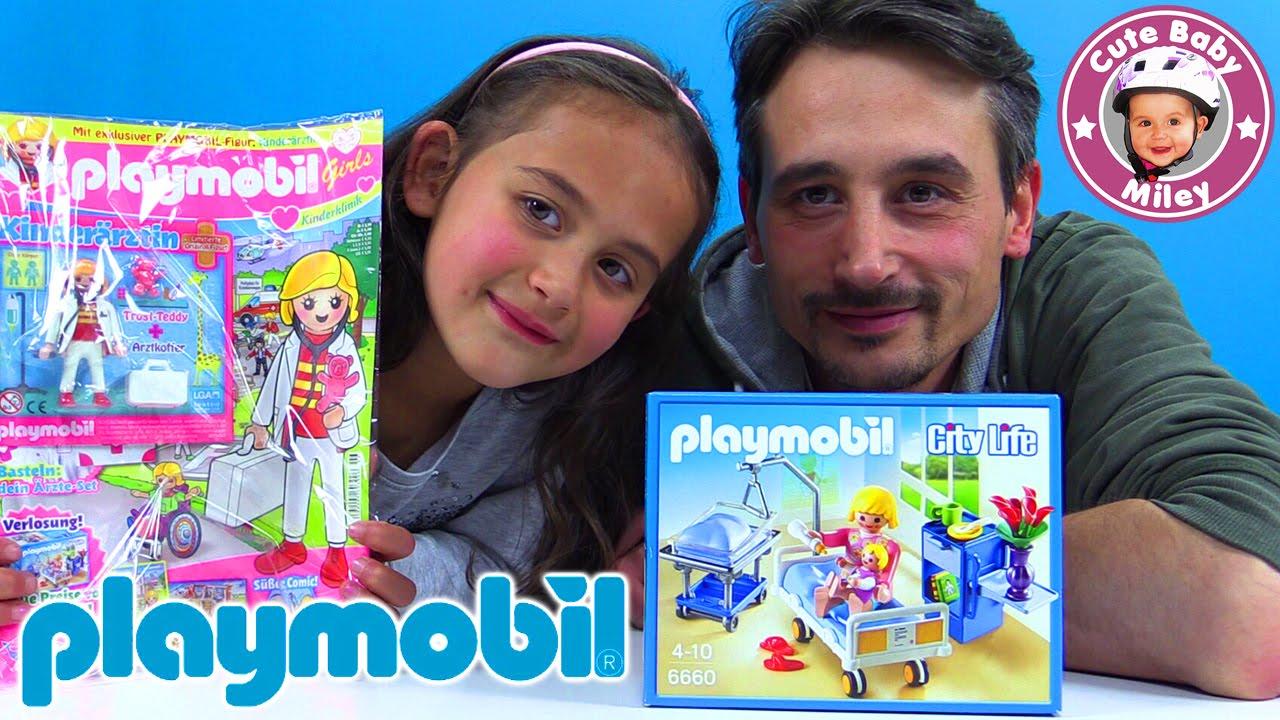 Playmobil krankenzimmer 6660 und magazin neue for Magazin einrichtung