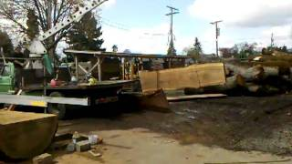 Urban Lumber Company Moving Walnut Slabs