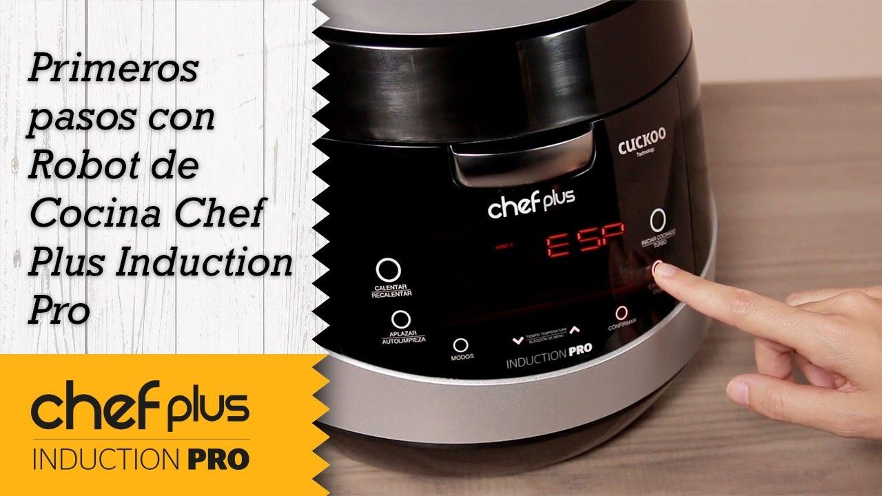Robot De Cocina Be Pro Chef | Primeros Pasos Con Robot Cocina Chef Plus Induction Pro Youtube