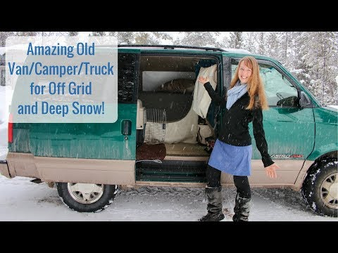 Life in a Tiny House called Fy Nyth - Amazing Van/Camper/Truck for Off Grid and Deep Snow!