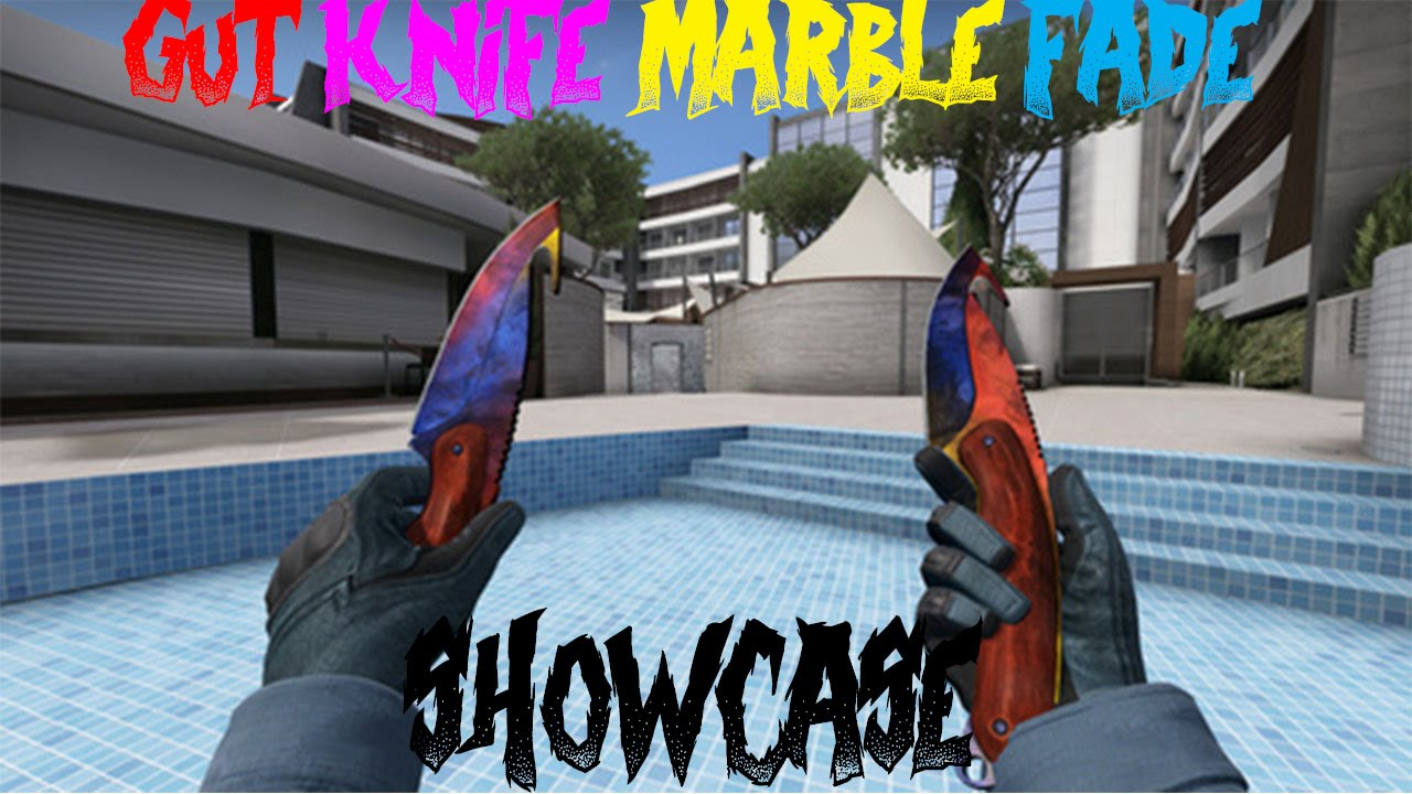 Gut Knife Marble Fade Gameplay Factory New Youtube