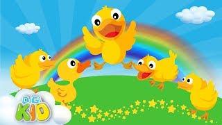 Five Little Ducks | Learn numbers ,Nursery Rhymes & Kids Songs by Digi Kid