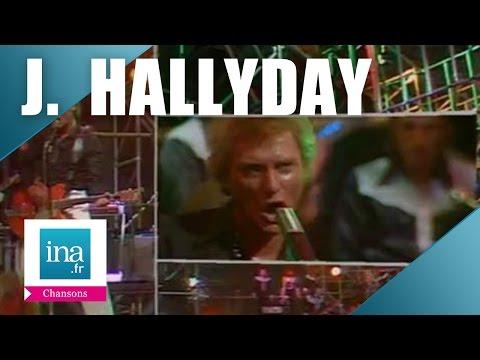 """Johnny Hallyday """"La fille de l'été dernier""""   Archive INA"""