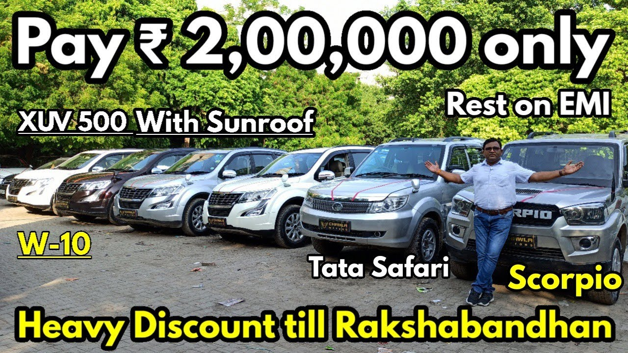 Pay Just ₹ 2,00,000 for Your Dream SUV Car (Rest on EMI) | XUV500,Tata Safari,Scorpio| @NewToExplore