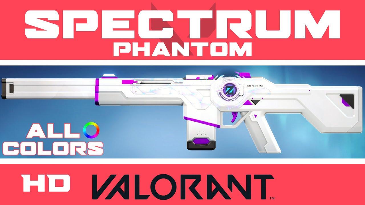 Spectrum Phantom VALORANT SKIN (ALL COLORS)   New Zedd Skins ...