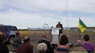 Climate Reference Station Unveiled in Saskatchewan