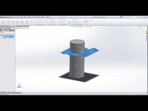 Solidworks Tutorials Extruded Boss On Non Planar Surface