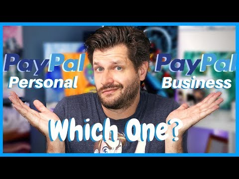 Paypal Business Account VS Personal - Which One To Pick?