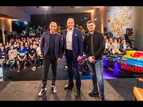 Hét Grote Interview met Max Verstappen en Frits van Eerd | Jumbo Racedagen 2019