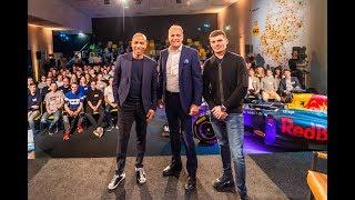 Hét Grote Interview met Max Verstappen en Frits van Eerd   Jumbo Racedagen 2019