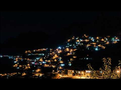 Uraman Takht, Iran - Day and Night Timelapse