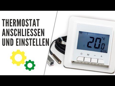 Thermostat Anschließen Und Einstellen! T STRIPE Gegen Kondenswasser Am Fenster! Fensterheizung