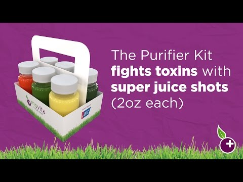 Get a Daily Boost Movita Juice Bar's  Purifier Kit!