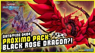 BLACK ROSE DRAGON NA PRÓXIMA CAIXA?! (Datamine 04/04) - Yu-Gi-Oh! Duel Links #656