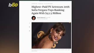 Sofia Vergara is the Highest Paid Actor on TV - Man or Woman