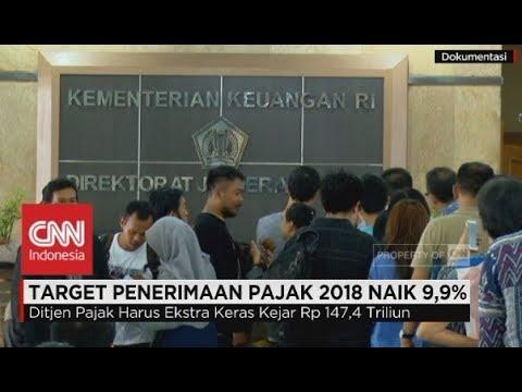 Target Penerimaan Pajak 2018 Naik 9,9% Mp3