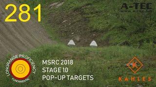 Longrange blog 281: MSRC 18, stage 10, Pop-up targets.