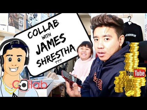 Collaborating With James Shrestha? + Q&A YouTube Earnings