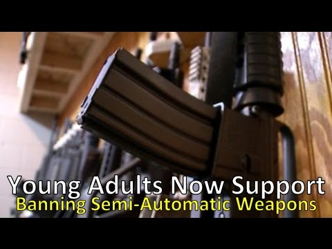 9 Out of 10 Young Adults Support Banning Semi-Automatic Weapons