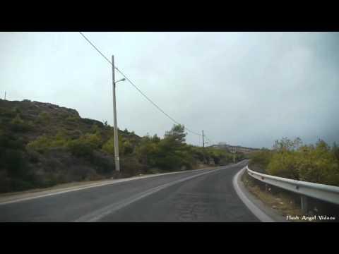 Driving to Cape Sounion