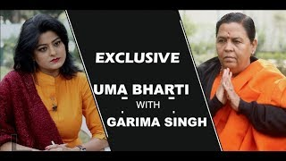 Uma Bharti With Garima Singh Exlusive The Capital Post