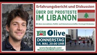 Erfahrungsbericht & Diskussion über die Proteste im Libanon mit Christoph Dinkelaker