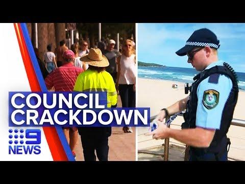 Coronavirus: Local Councils Cracking On Social Distancing   Nine News Australia