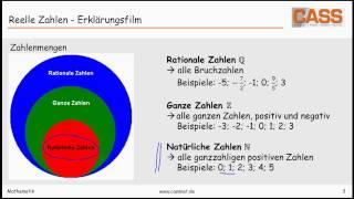 Zahlenmengen Matura Wiki