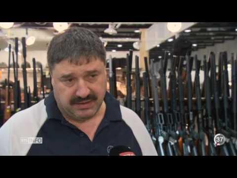 VD la bourse aux armes à Lausanne connaît un fort succès