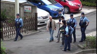 薬物使用で逮捕か!?遊撃特別警ら隊が職質した不審な女を警察官と刑事が取り囲む!!ポンプ発見か!?覆面パトカーが緊急走行!!最後はパトカーに囲まれ連行される不審車!!