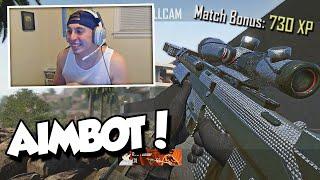 THEY DIDN'T KNOW I HAD AIMBOT! (BO2 Trickshotting w/ Aimbot)