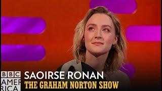Saoirse Ronan's Squeaky Shrek 2 Impression | The Graham Norton Show | BBC America