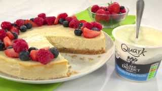 Recipe - How To Make A Quark New York Cheesecake With 400 Fewer Calories