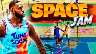 """THIS LEBRON JAMES """"SPACE JAM"""" BUILD on NBA 2K21 CURRENT GEN is UNBELIEVEABLE POST PLAYMAKER"""