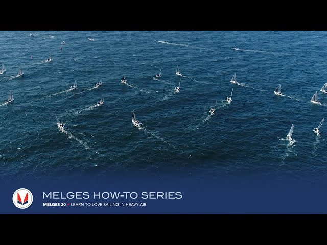 How to Sail Upwind in Heavy Air