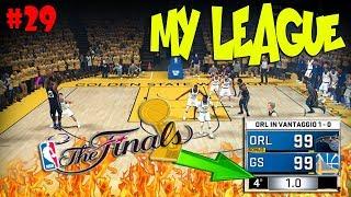 UNA DELLE PARTITE PIU' BELLE CHE ABBIA MAI GIOCATO! - Gara2 - NBA2K18 My League #29 - [ITA PS4]
