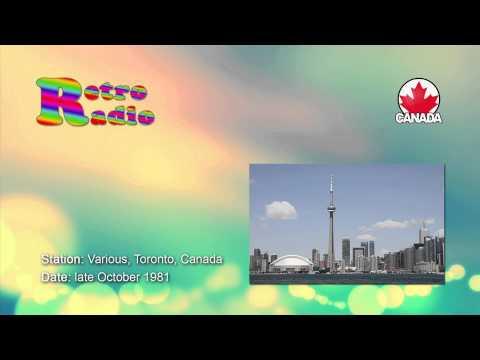 Canadian Radio - Toronto stations - late October 1981