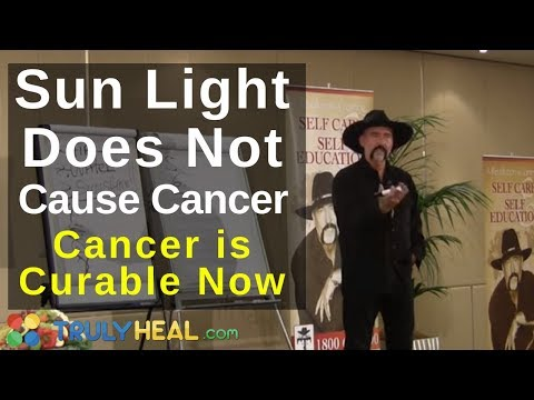 Sunlight Does Not Cause Cancer at Cancer...