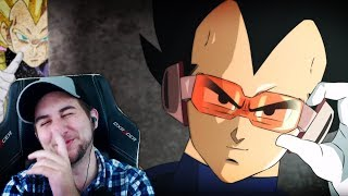 Why is This HEAT?! - Kaggy Reacts to Vegeta The Fresh Prince Of Gold-Hair (DBZ Parody)
