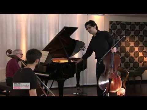Amit Peled Cello - Producing proper sound