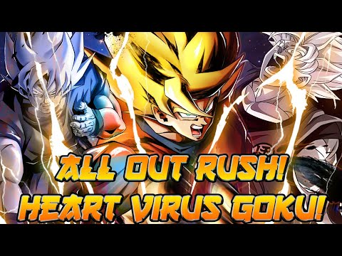 HE SHREDS! HV Goku In Today's Meta! | Dragon Ball Legends PvP