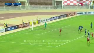 بالفيديو.. بيروزي يتقدم على الهلال بالهدف الأول