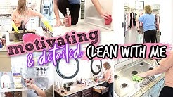 INSANELY MOTIVATING & DETAILED EXTREME CLEAN WITH ME | CRAZY LONG CLEANING MOTIVATION | 2020 SAHM