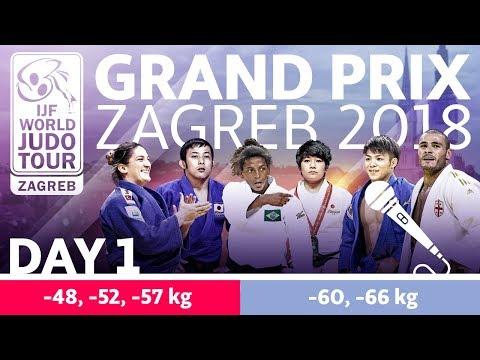 Judo Grand-Prix Zagreb 2018: Day 1