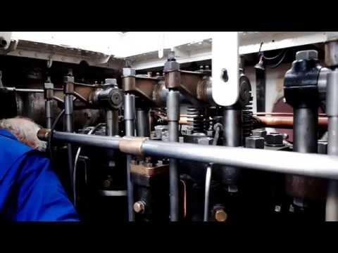 Dieselmotor Industrie 3VD5 1937