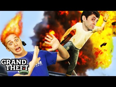 STUNT JUMP SPECTACULAR! (Grand Theft Smosh)