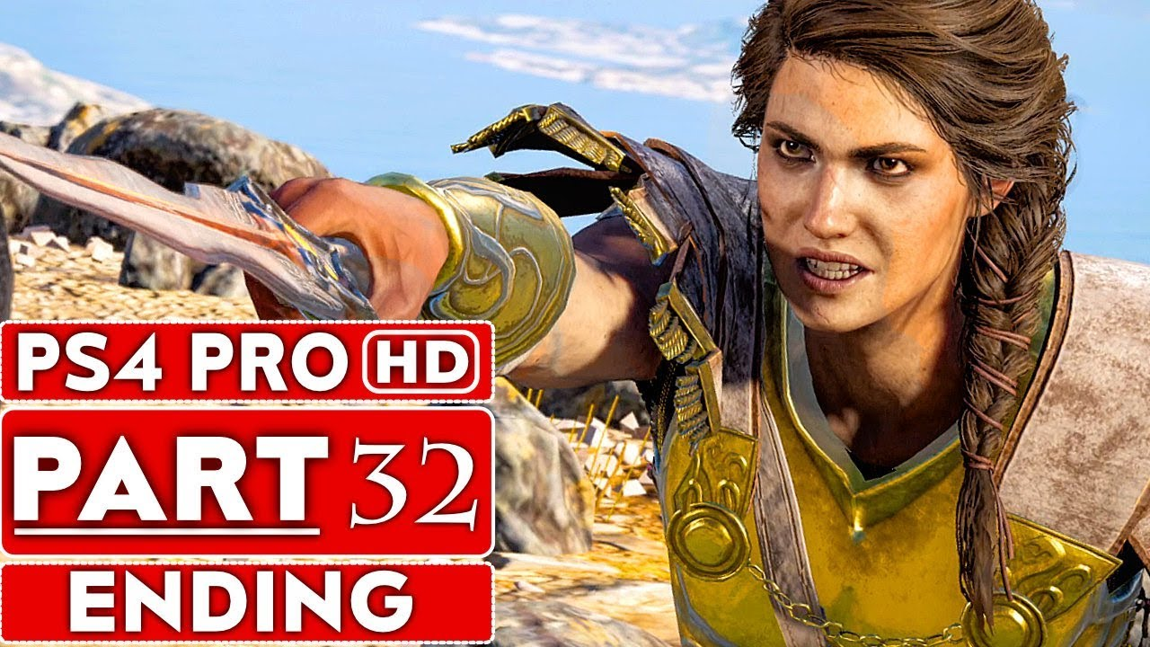ASSASSIN'S CREED ODYSSEY ENDING Gameplay Walkthrough Part 32 [1080p HD PS4 PRO] - No Commentary