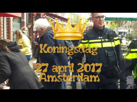 Koningsdag 2017 - King's 50th BirthDay - Inside  Amsterdam